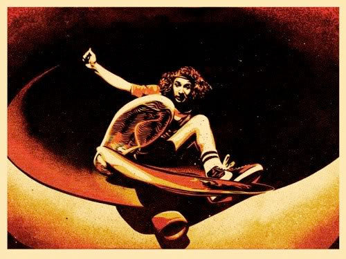 Shepard Fairey Alva Frontside (Red)
