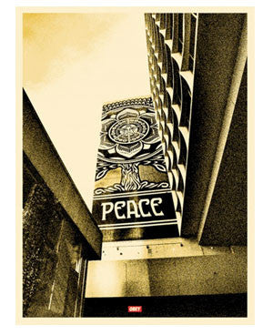 Shepard Fairey Covert To Overt: Peace Tree