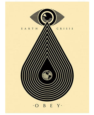 Shepard Fairey Earth Crisis Cream