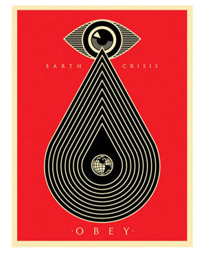Shepard Fairey Earth Crisis Red