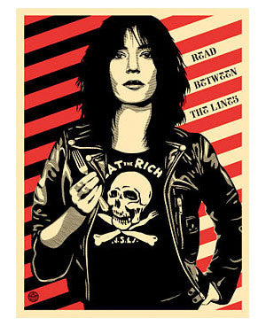 "Shepard Fairey ""Eat The Rich"""