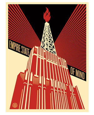 "Shepard Fairey ""Empire State Of Mind"""