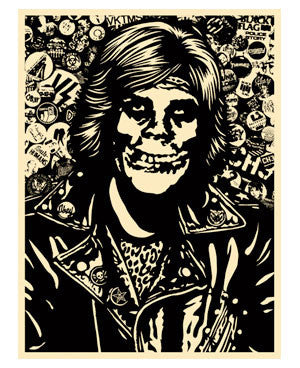 Shepard Fairey Fiend Rocker (Black)