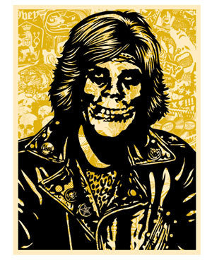 Shepard Fairey Fiend Rocker (Gold)