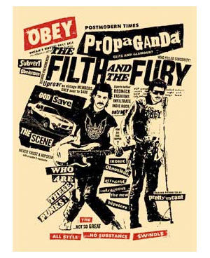 "Shepard Fairey ""Filth & Fury"""
