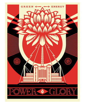 "Shepard Fairey ""Green Power"""