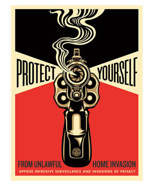 "Shepard Fairey ""Home Invasion"" 2"