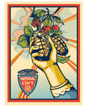 Shepard Fairey Imperial Glory