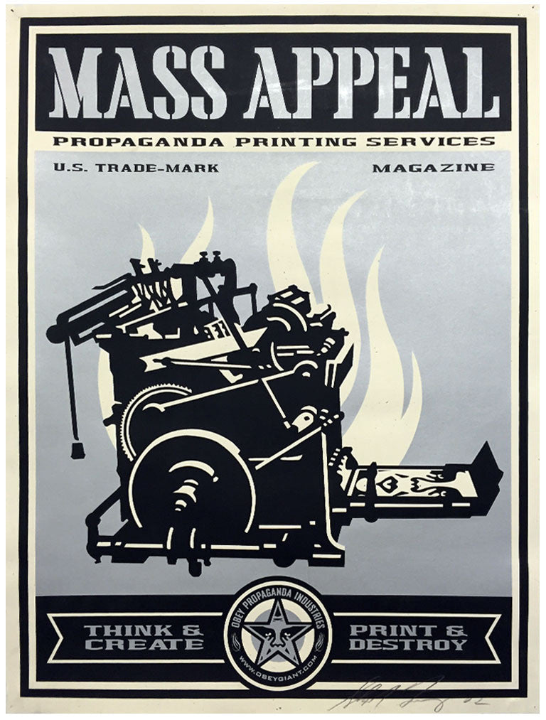 Shepard Fairey - Mass Appeal (1st Edition)