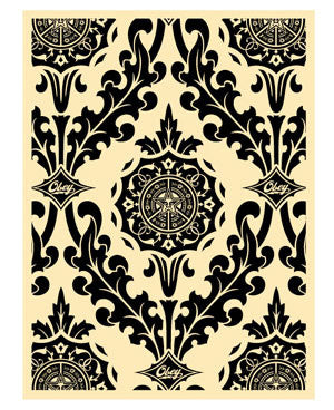 Shepard Fairey Parlor Pattern Black