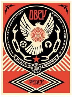 "Shepard Fairey ""Peace and Freedom Dove"""
