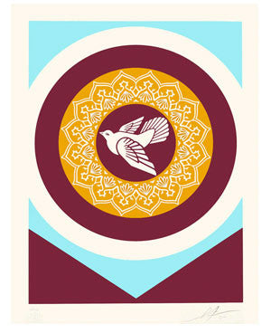 Shepard Fairey Peace Series - Dove 2