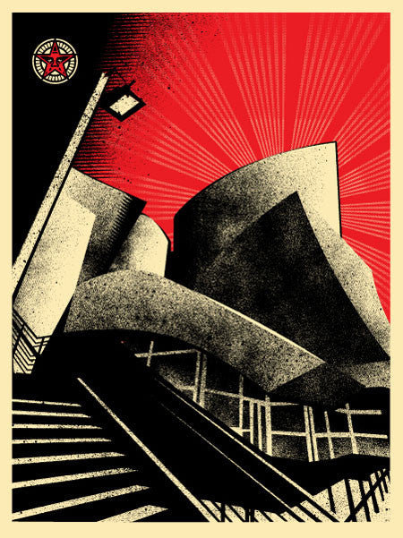 Shepard Fairey - LA Philharmonic Hall