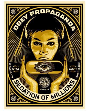 "Shepard Fairey ""Sedation Pill"""