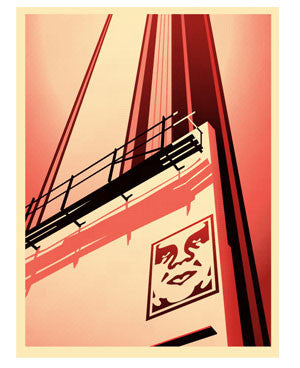 Shepard Fairey Sunset & Vine Billboard