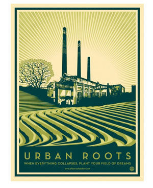 "Shepard Fairey ""Urban Roots"""