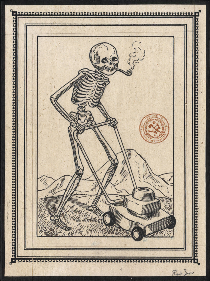 Ravi Zupa - Mowing Drawing