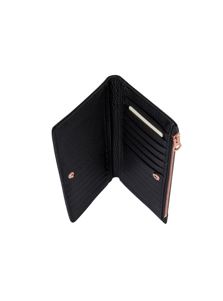 In The Beginning Wallet in Black by Status Anxiety