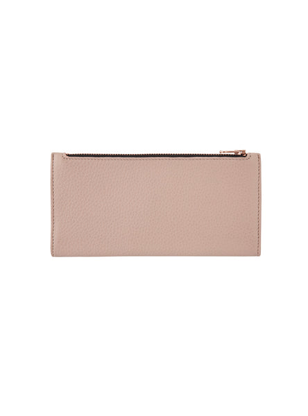In The Beginning Wallet in Dusty Pink by Status Anxiety