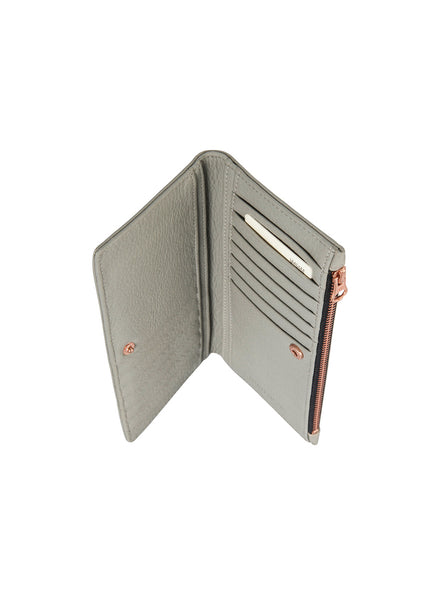 The Beginning Wallet in Grey by Status Anxiety