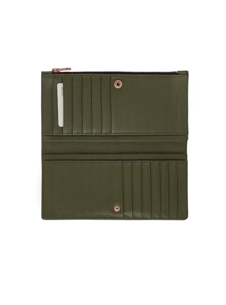In The Beginning Wallet in Khaki by Status Anxiety