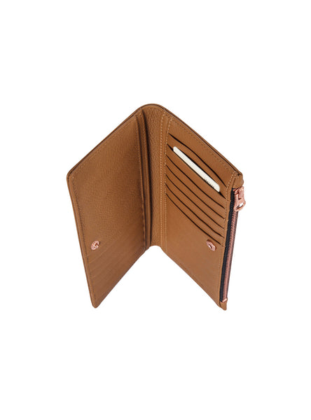 The Beginning Wallet in Tan by Status Anxiety