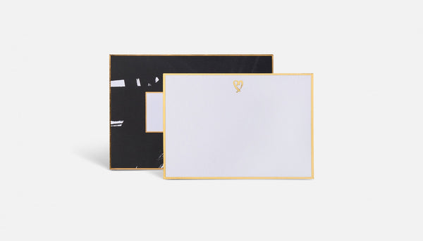 Heart Note Cards by Blacklist