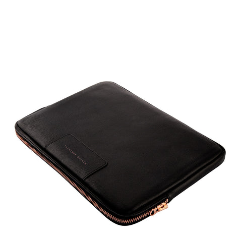 products/status-anxiety-laptop-sleeve-before-i-leave-black-rose-gold-zipper-top-angle-close.jpg