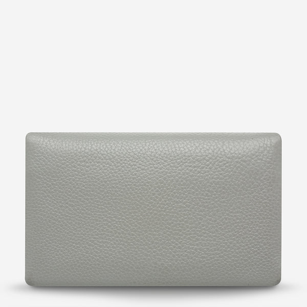 Audrey Wallet - Light Grey Pebble by Status Anxiety