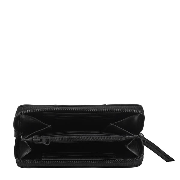 Moving On Wallet by Status Anxiety in Black