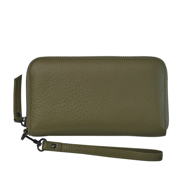 Moving On Wallet by Status Anxiety in Khaki