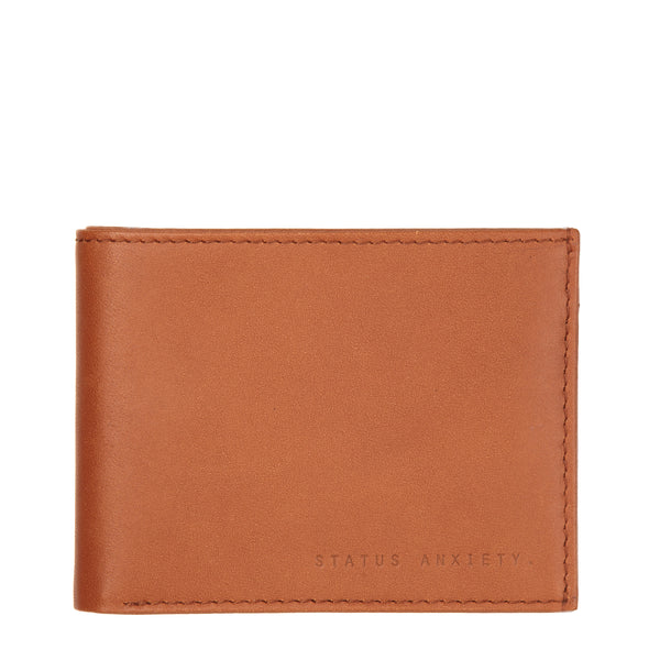 Noah - Mens Wallet in Camel by Status Anxiety