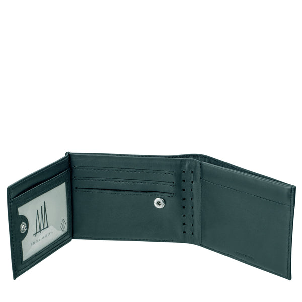 Noah - Mens Wallet in Teal by Status Anxiety