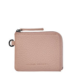 Part Time Friends Wallet by Status Anxiety in Dusty Pink