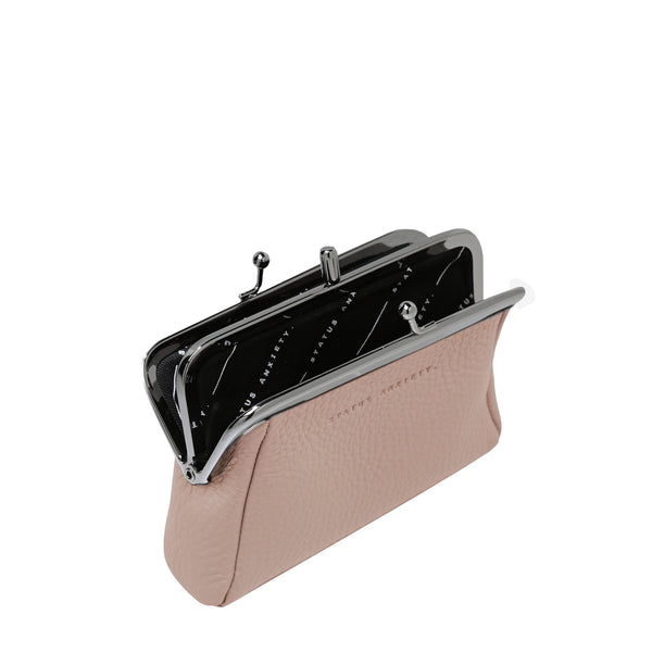 Volatile Purse in Dusty Pink by Status Anxiety
