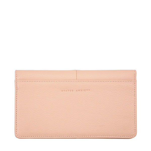 Triple Threat Wallet by Status Anxiety in Dusty Pink