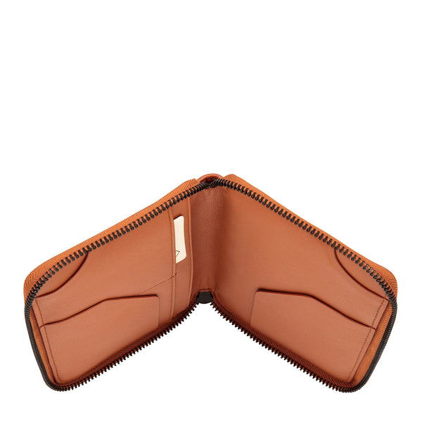 The Vow Travel Wallet by Status Anxiety in Tan