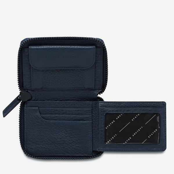 Wayward Wallet - Navy Blue by Status Anxiety