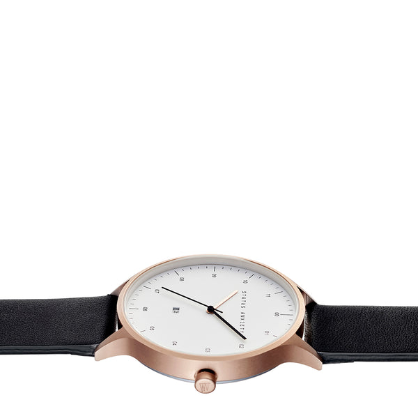 Inertia in Rose Gold/white/black by Status Anxiety