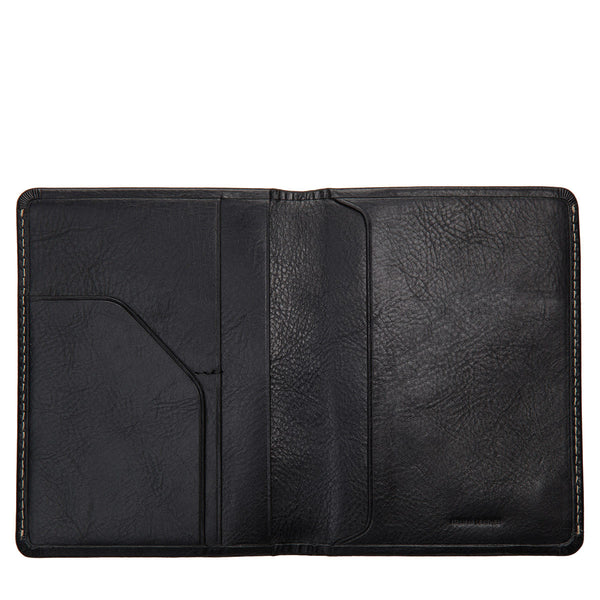 Conquest Wallet in Black by Status Anxiety