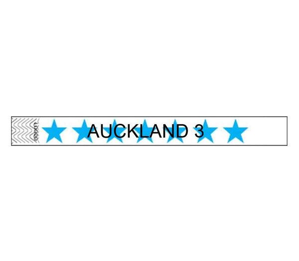 19mm Custom Printed Patterned Tyvek Wristbands