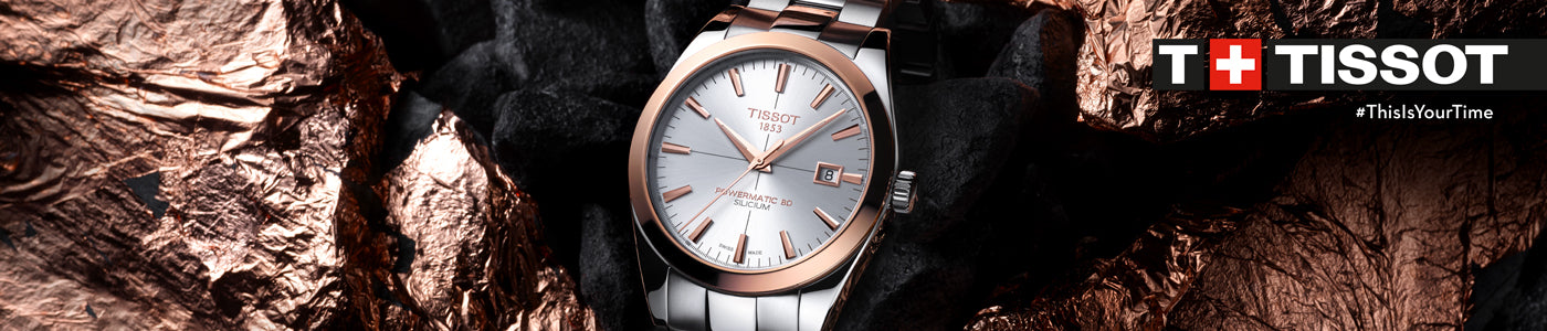 Tissot Watches - Gold Collection