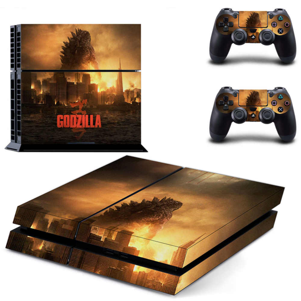 Godzilla Ps4 pro skins The sotory of the monster
