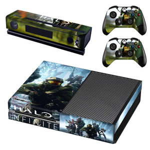 Halo Infinite Xbox One stickers - The story
