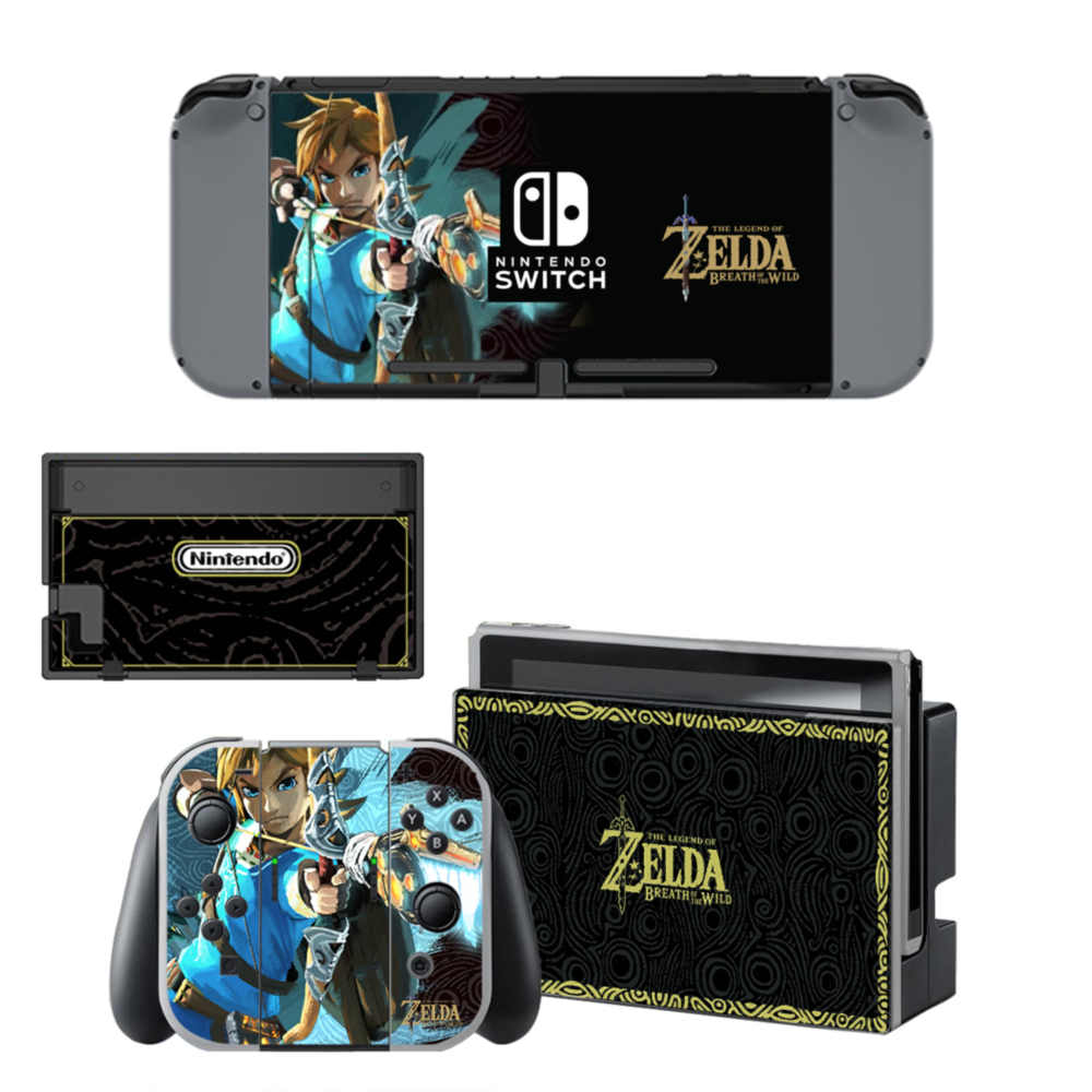 The Legend of Zelda Nintendo switch cover