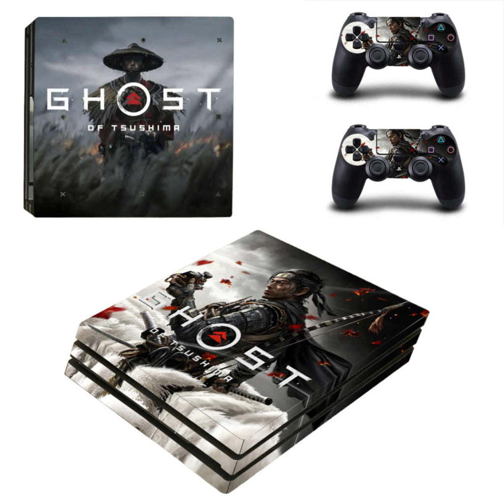 Ghost of Tsushima ps4 pro skin