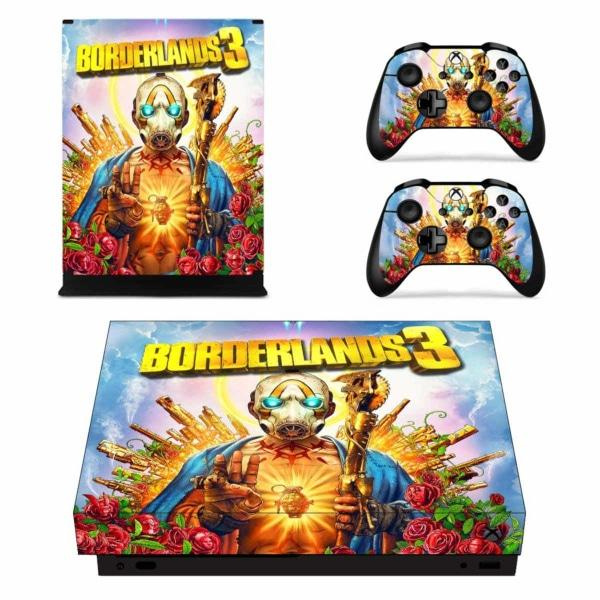 Borderlands Xbox one x Wrap