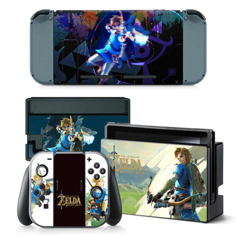 Nintendo switch cover | Console skins world