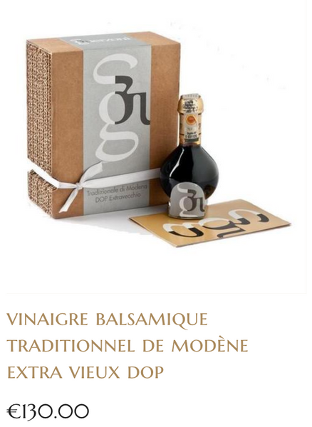 vinaigre balsamique traditionnel