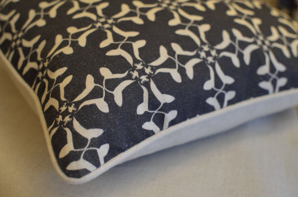 Cumberland Cow Cushion | Navy